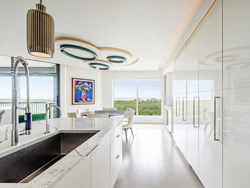 New Modern Kitchen Design Naples FL