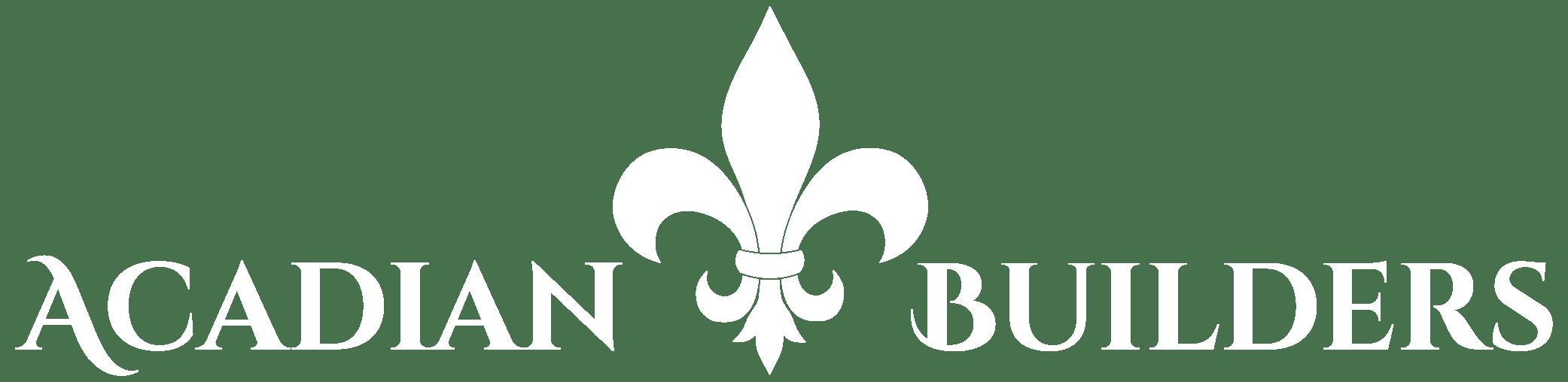 Acadian Builders logo